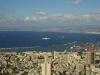 Vista al puerto de Haifa