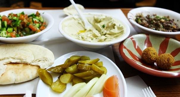 platos típicos de Israel
