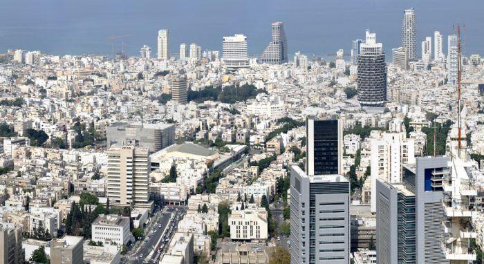 Mapa de Israel - Tel Aviv
