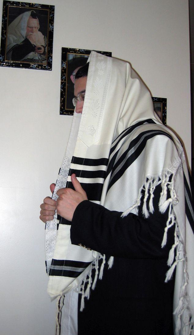 bandera de israel - talit