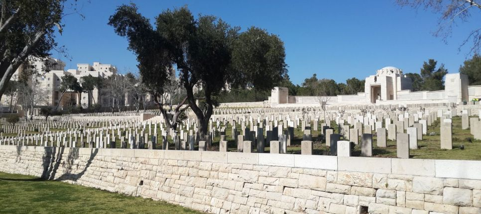 cementerio militar británico en jerusalén