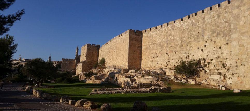 Murallas de la ciudad antigua Jerusalén