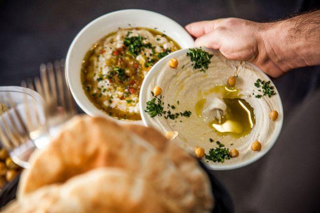 hummus platos típicos de Israel