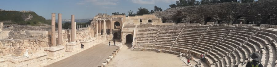 parques arqueológicos de Israel