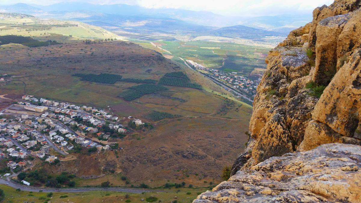 El Mar de Galilea y el paisaje a su alrededor