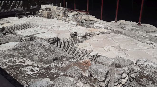 excavaciones arqueológicas en Jerusalén