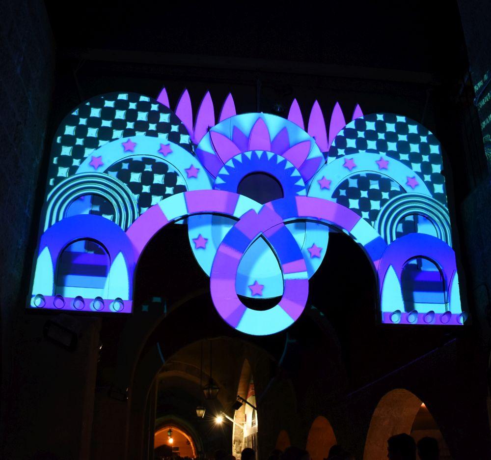 Festival luz en Jerusalén 2016