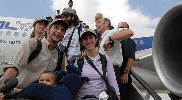nuevos inmigrantes en Israel