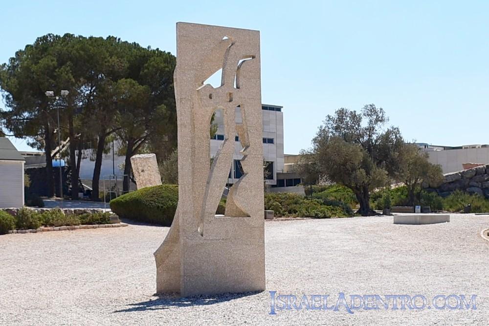 jardín de arte del Museo de Israel