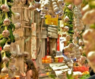 Mercado de Mahane Yehuda en Jerusalén