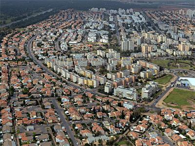 Kiryat Gat al sur de Israel