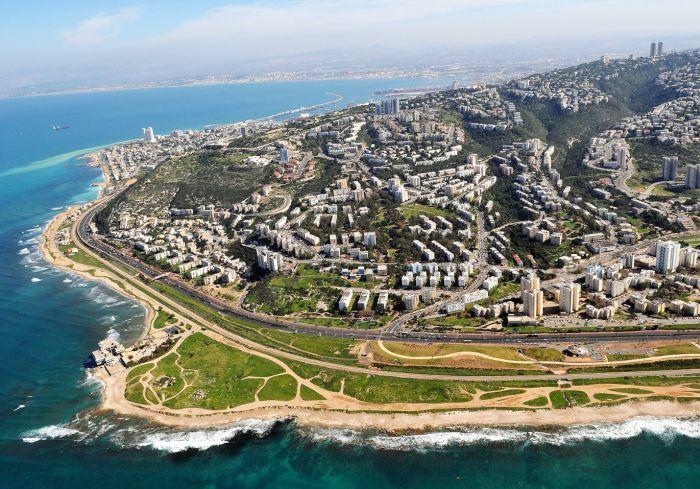 Mapa de Israel - Haifa