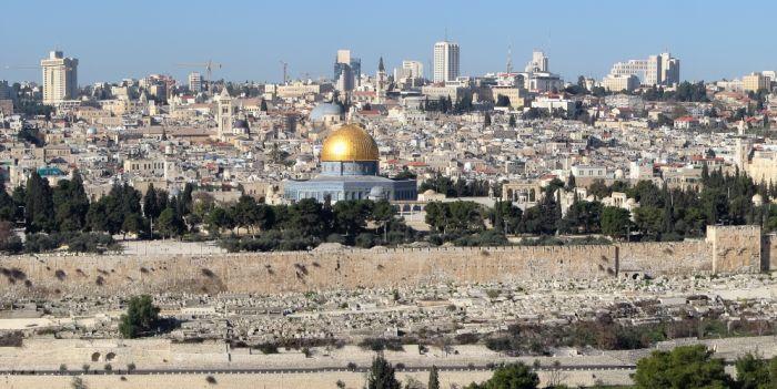 Mapa de Israel - Jerusalen