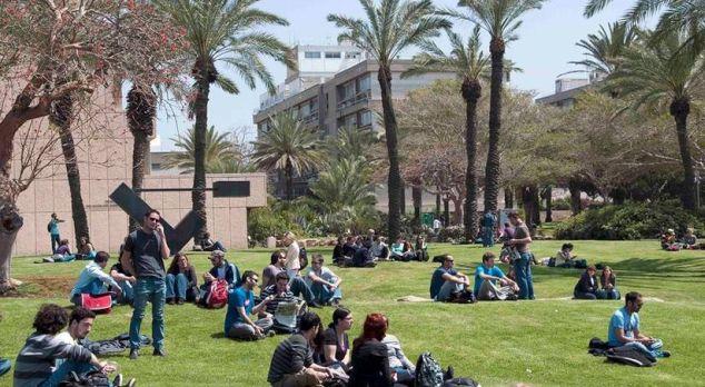 estudiante universitario en Israel