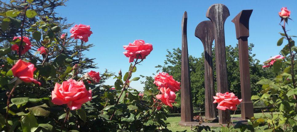 Parque de las rosas Wohl Jerusalén