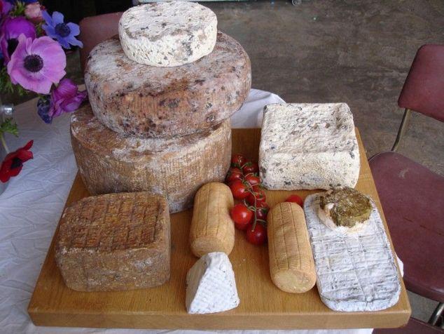 quesos en Israel