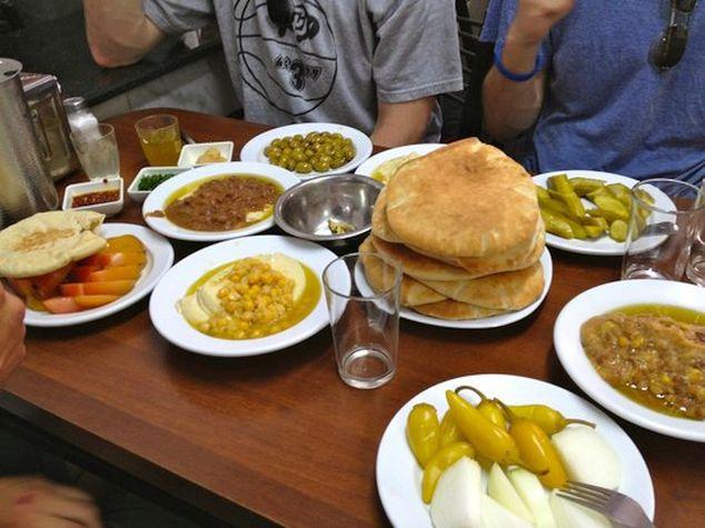 hummus comidas típicas de Israel