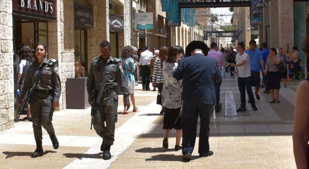 densidad de población en Israel