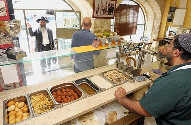 mejor faláfel de Jerusalén