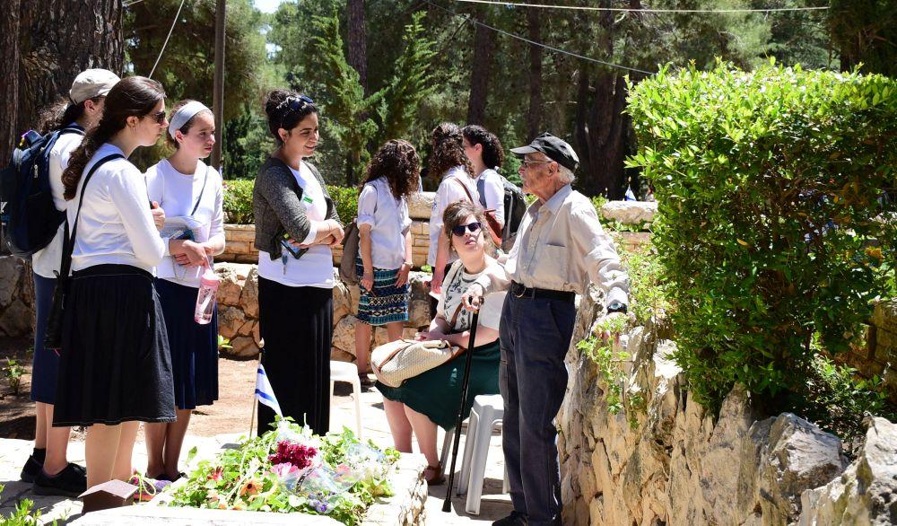 Monte Herzl en Jerusalén