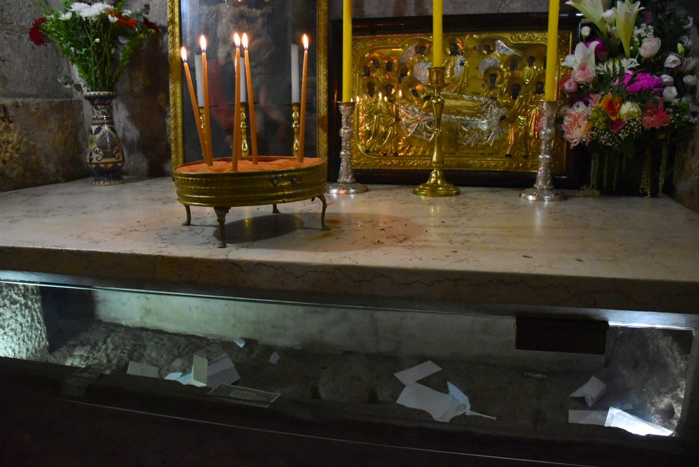 El sepulcro de María