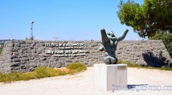 El jardín de arte del Museo de Israel, un lugar para caminar con calma
